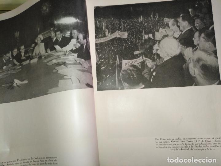 Libros de segunda mano: EVA PERON 34X28 CM 140 PAGINAS (FOTOS) S.I.P.A. SERVICIO INTERNACIONAL DE PUBLICACIONES ARGENTINA - Foto 60 - 184917350