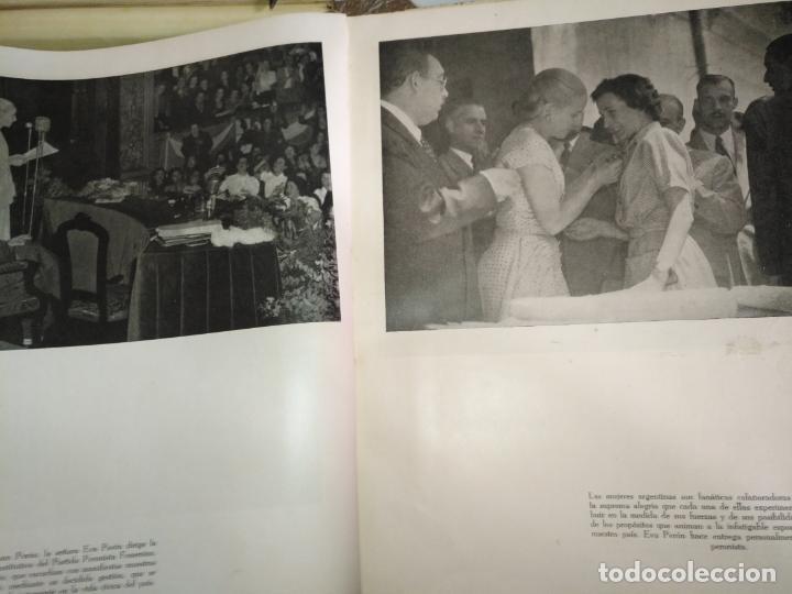 Libros de segunda mano: EVA PERON 34X28 CM 140 PAGINAS (FOTOS) S.I.P.A. SERVICIO INTERNACIONAL DE PUBLICACIONES ARGENTINA - Foto 61 - 184917350