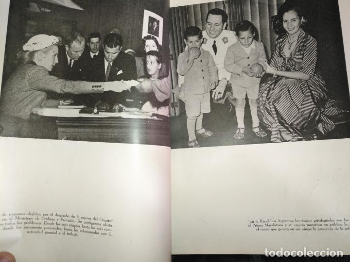 Libros de segunda mano: EVA PERON 34X28 CM 140 PAGINAS (FOTOS) S.I.P.A. SERVICIO INTERNACIONAL DE PUBLICACIONES ARGENTINA - Foto 62 - 184917350