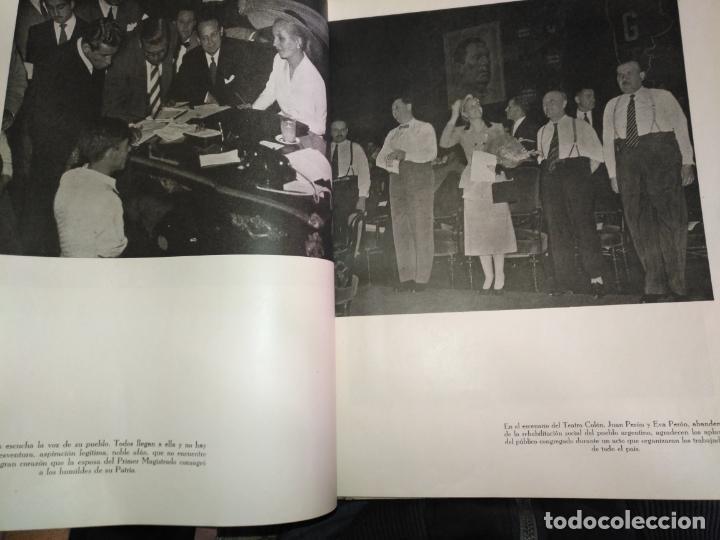 Libros de segunda mano: EVA PERON 34X28 CM 140 PAGINAS (FOTOS) S.I.P.A. SERVICIO INTERNACIONAL DE PUBLICACIONES ARGENTINA - Foto 63 - 184917350