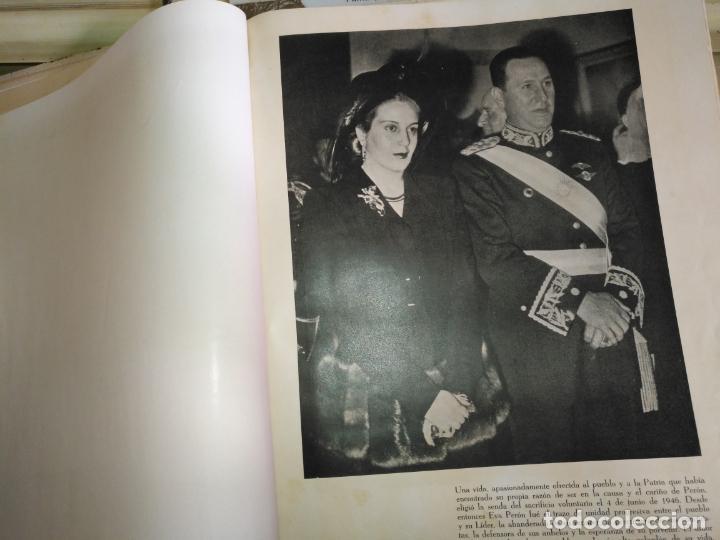Libros de segunda mano: EVA PERON 34X28 CM 140 PAGINAS (FOTOS) S.I.P.A. SERVICIO INTERNACIONAL DE PUBLICACIONES ARGENTINA - Foto 67 - 184917350
