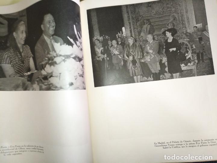 Libros de segunda mano: EVA PERON 34X28 CM 140 PAGINAS (FOTOS) S.I.P.A. SERVICIO INTERNACIONAL DE PUBLICACIONES ARGENTINA - Foto 72 - 184917350