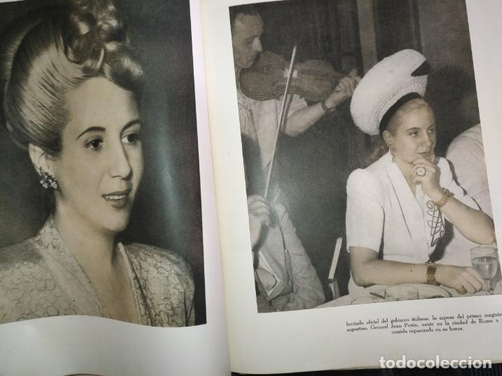 Libros de segunda mano: EVA PERON 34X28 CM 140 PAGINAS (FOTOS) S.I.P.A. SERVICIO INTERNACIONAL DE PUBLICACIONES ARGENTINA - Foto 74 - 184917350
