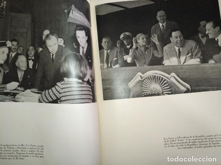 Libros de segunda mano: EVA PERON 34X28 CM 140 PAGINAS (FOTOS) S.I.P.A. SERVICIO INTERNACIONAL DE PUBLICACIONES ARGENTINA - Foto 75 - 184917350