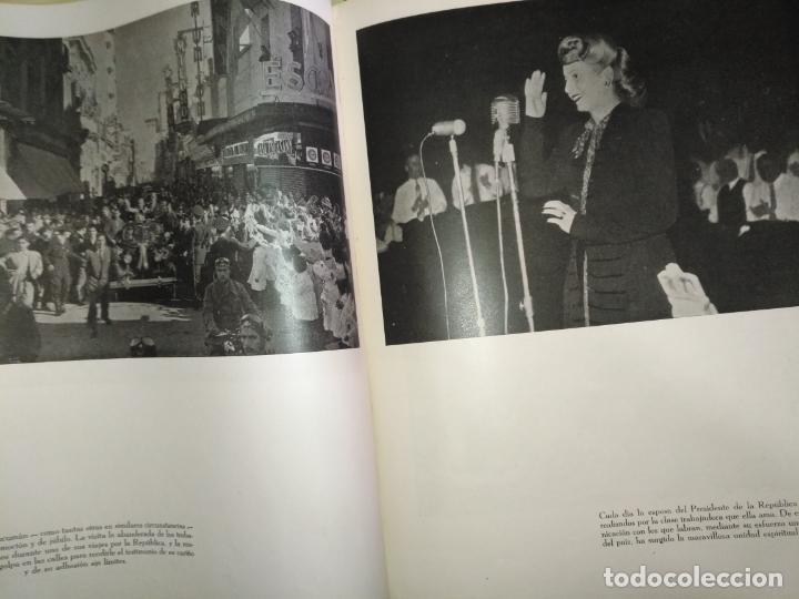 Libros de segunda mano: EVA PERON 34X28 CM 140 PAGINAS (FOTOS) S.I.P.A. SERVICIO INTERNACIONAL DE PUBLICACIONES ARGENTINA - Foto 76 - 184917350