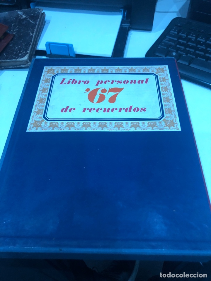 LIBRO PERSONAL 67 DE RECUERDOS (Libros de Segunda Mano - Biografías)