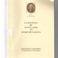 Libros de segunda mano: LA ESTANCIA DE JOVELLANOS EN MUROS DE GALICIA.. Lote 186453485