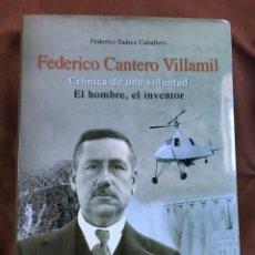 Libros de segunda mano: FEDERICO CANTERO VILLAMIL. Lote 187146265