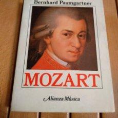Libros de segunda mano: MOZART - BERNHARD PAUMGARTNER - ALIANZA MÚSICA D2. Lote 187376236
