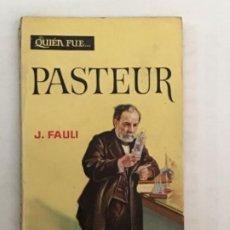 Libros de segunda mano: 2 LIBROS BIOGRAFÍAS. MME. CURIE. PASTEUR. Lote 187435483