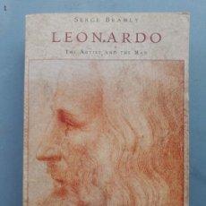 Libros de segunda mano: LEONARDO , LIBRO EN INGLES SOBRE EL ARTISTA RENACENTISTA LEONARDO DE.VINCI, SERGE BRAMLY, 1992. Lote 187439028