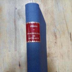 Livros em segunda mão: VALENTÍN SPERANSKI: LA NOCHE ROJA. EL TRÁGICO FIN DE NICOLÁS II Y SU FAMILIA. Lote 188489252