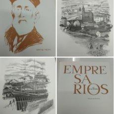 Libros de segunda mano: EMPRESARIOS AL MAGNESIO MANUEL LLANO GOROSTIZA BILBAINOS EMINENTES PASADO INDUSTRIAL VIZCAYA 1000 EJ. Lote 188743087