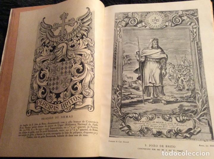 Libros de segunda mano: Brotéria, Revista contemporânea de Cultura, 1947. Número dedicado a S. João de Brito, 1947. Ilustrad - Foto 4 - 189209503