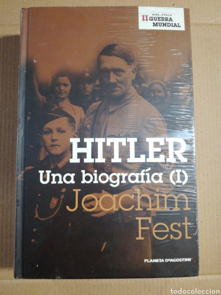 HITLER UNA BIOGRAFÍA ( I ) JOACHIM FEST (PRECINTADO) (Libros de Segunda Mano - Biografías)