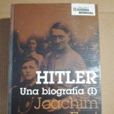 Libros de segunda mano: HITLER UNA BIOGRAFÍA ( I ) JOACHIM FEST (PRECINTADO). Lote 189256040