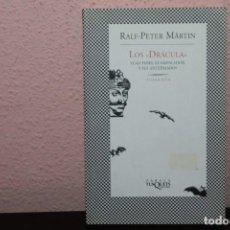 Libros de segunda mano: LOS DRACULA VLAD TEPES, EL EMPALADOR Y SUS ANTEPASADOS. Lote 189522541