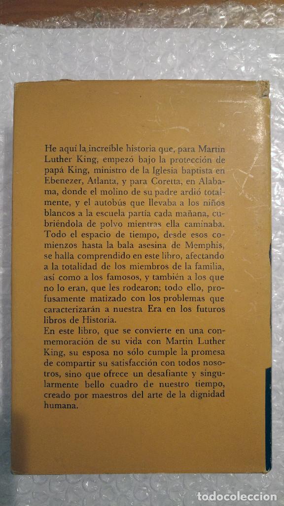 Libros de segunda mano: Mi vida con Martin Luther King de Coretta Scott King - Foto 2 - 189607768