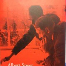 Livres d'occasion: ALBERT SPEER, MEMORIAS, LOS RECUERDOS DEL ARQUITECTO Y MINISTRO DE ARMAMENTO DE HITLER. Lote 190080205