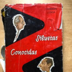 Libros de segunda mano: SILUETAS CONOCIDAS DE SALAMANCA. Lote 191259426