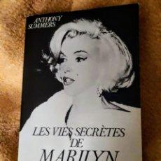 Libros de segunda mano: LES VIES SECRÉTES DE MARILYN MONROE.. Lote 191364028