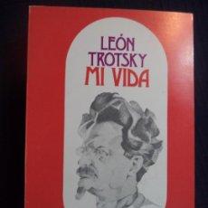 Libros de segunda mano: MI VIDA LEON TROTSKY TEBAS PERFECTO ESTADO SIN USO 21X13,5 CM 634 PAGINAS. Lote 191597111
