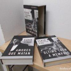 Libros de segunda mano: ENVIO CON CERTIFICADO CONTC: 4€.ELVIS PRESLEY.BIOGRAFIA ETC 2 TOMOS.. Lote 192005735