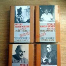 Libros de segunda mano: VIURE I VIURE. VOLÚMENES 1, 2, 3 Y 4 - AVELLÍ ARTÍS-GENER-TÍNER . Lote 192372123