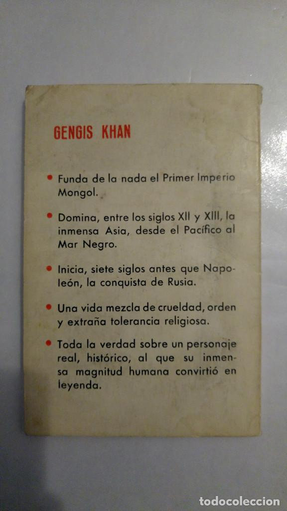 Libros de segunda mano: Gengis Khan de Jean Rousselot - Foto 2 - 192570922