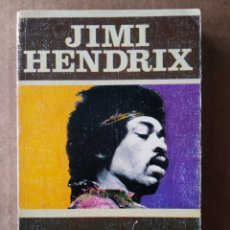 Libros de segunda mano: JIMI HENDRIX, POR JESÚS ORDOVÁS (JÚCAR, 1975). COLECCIÓN LOS JUGLARES N°7. CON LETRAS Y DISCOGRAFÍA.. Lote 192955831