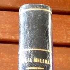 Livres d'occasion: JULIA MÉLIDA. BIOGRAFÍA DE LHARDY Y BIOGRAFÍA DEL BUEN RETIRO. DOS LIBROS EN UN VOLÚMEN ENCUADERNADO. Lote 193035471