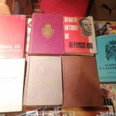 Libros de segunda mano: ALFONSO XIII HISTORIA 7 LIBROS COMO NUEVOS LOTE. Lote 193211058