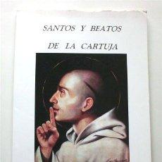 Libri di seconda mano: SANTOS Y BEATOS DE LA CARTUJA. JUAN MAYO ESCUDERO. EL PUERTO DE SANTA MARÍA (CÁDIZ), 2000. Lote 193806505