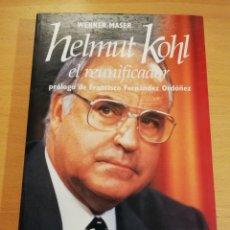 Libros de segunda mano: HELMUT KOHL. EL REUNIFICADOR (WERNER MASER). Lote 193860150