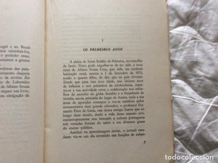 Libros de segunda mano: Albino Souza Cruz, una vida - una obra - un ejemplo. Por damião Peres, 1961. Envio grátis. - Foto 4 - 194231573