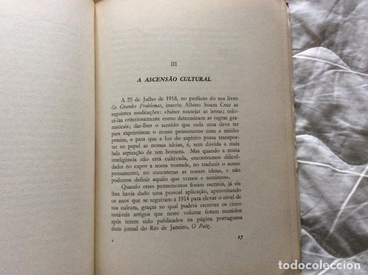 Libros de segunda mano: Albino Souza Cruz, una vida - una obra - un ejemplo. Por damião Peres, 1961. Envio grátis. - Foto 5 - 194231573
