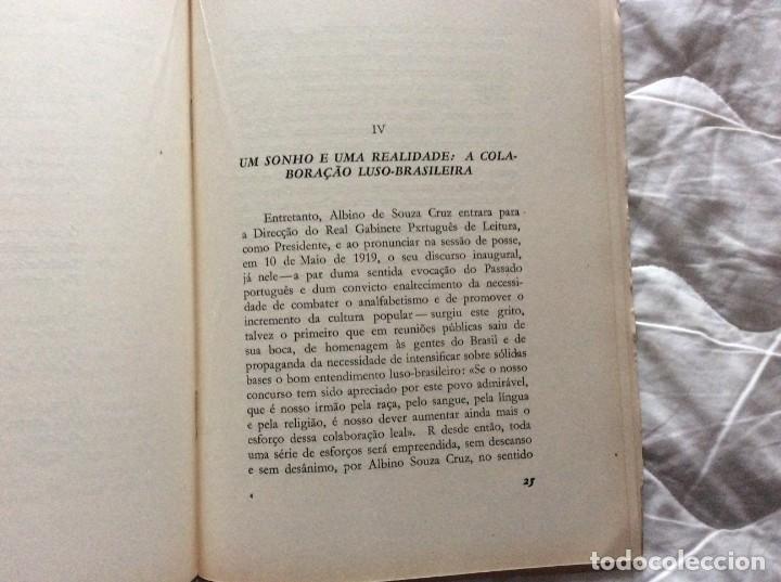 Libros de segunda mano: Albino Souza Cruz, una vida - una obra - un ejemplo. Por damião Peres, 1961. Envio grátis. - Foto 6 - 194231573