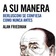 Libros de segunda mano: A SU MANERA. Lote 194232706