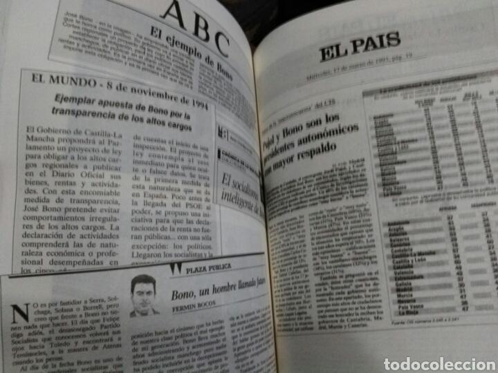 Libros de segunda mano: JOSÉ BONO DE CERCA.FIRMADO. - Foto 6 - 194242522