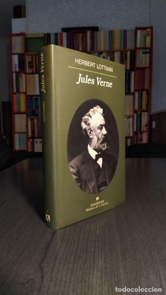 Libros de segunda mano: Jules Verne Herbert Lottman, Anagrama - Foto 6 - 194247682