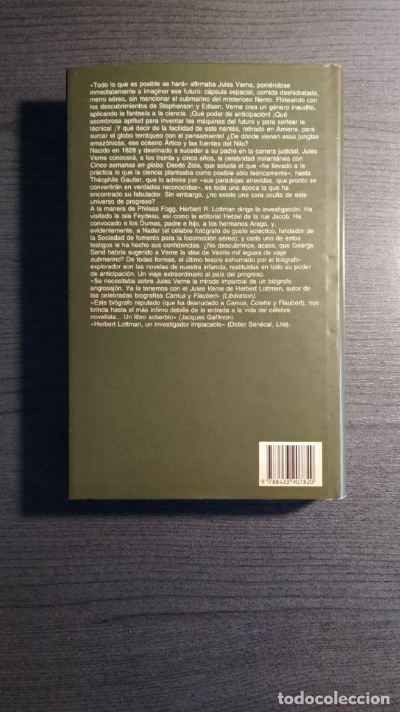 Libros de segunda mano: Jules Verne Herbert Lottman, Anagrama - Foto 12 - 194247682