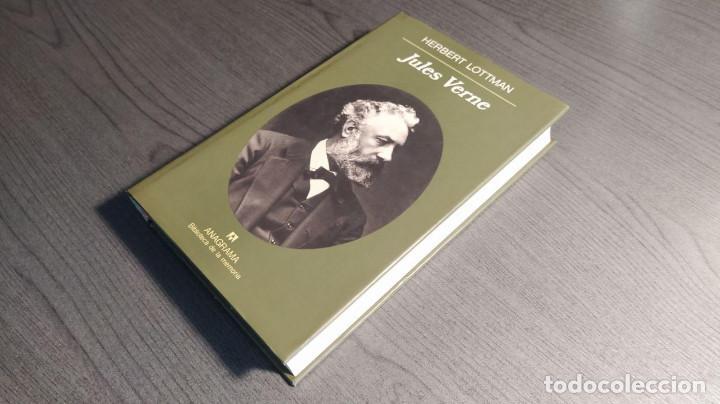 Libros de segunda mano: Jules Verne Herbert Lottman, Anagrama - Foto 14 - 194247682