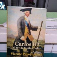 Libros de segunda mano: VICENTE PALACIO ATARD. CARLOS III. ARIEL 2006. Lote 194247817