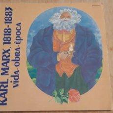 Libros de segunda mano: .1 LIBRO DE - ** KARL MARX 1818-1883 VIDA Y OBRA ** FUND. FRIEDRICH EBERT. Lote 194298421