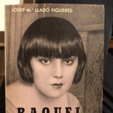 Libros de segunda mano: RAQUEL MELLER . BIOGRAFIES POPULARS. JOSEP Mº LLADÒ FIGUERES.. Lote 194323513