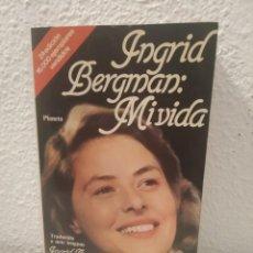 Libros de segunda mano: INGRID BERGMAN MI VIDA. Lote 194351755