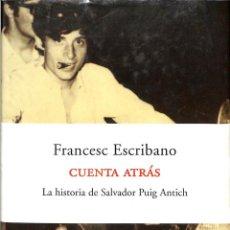Libros de segunda mano: CUENTA ATRAS.. Lote 194391120