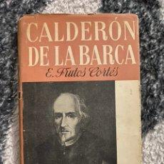 Libros de segunda mano: CALDERON DE LA BARCA E. FRUTOS CORTES. Lote 194538365
