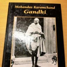 Libros de segunda mano: MOHANDAS KARAMCHAND GANDHI. GRANDES BIOGRAFÍAS (EDICIONES RUEDA). Lote 194540257