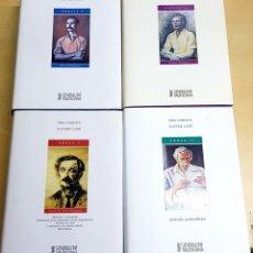 Libros de segunda mano: PROSA1 Y 2 - I Y II OBRA COMPLETA POESIA 1 Y 2 I Y II OBRA COMPLETA XAVIER CASP. Lote 194586695